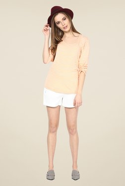 Yepme Rivera Orange Striped Top