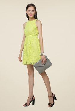 Yepme Green Eliza Lace Dress