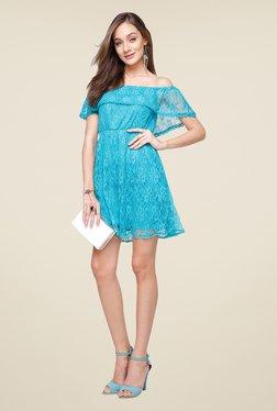 Yepme Blue June Lace Dress