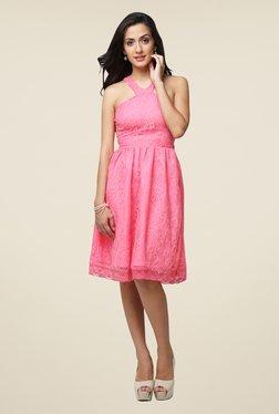Yepme Pink Kylie Lace Dress