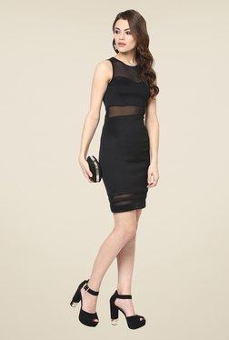 Yepme Black Olivia Lace Party Dress