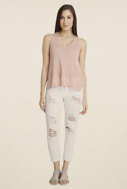 Vero Moda Light Rose Solid Top
