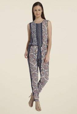 Only Multicolor Paisley Print Jumpsuit