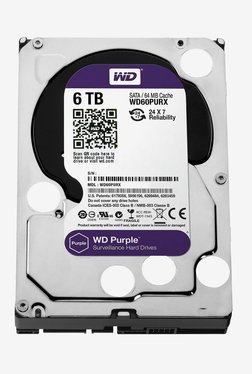 WD Purple 6 TB Internal Hard Disk (Silver)