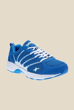 Sparx Blue & White Running Shoes