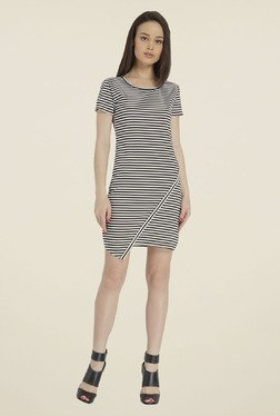 Only Black & White Striped Dress