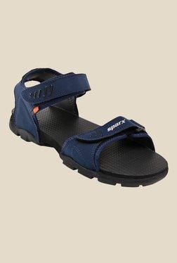 Sparx Navy Floater Sandals - Mp000000000277391