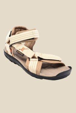 Sparx Beige Floater Sandals - Mp000000000277556