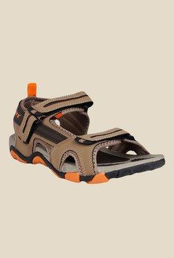 Sparx Khaki Floater Sandals