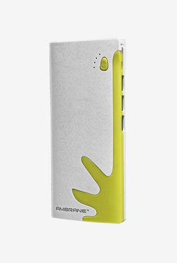Ambrane P-1122 10000 mAh Power Bank (White & Green)