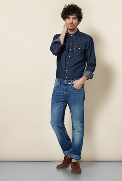 Levi's 511 Blue Stretch Jeans