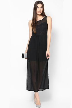 Only Black Lace Maxi Dress