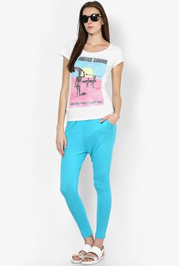 Only Aqua Blue Leggings