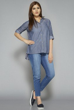 Sassy Soda by Westside Blue Livia Blouse