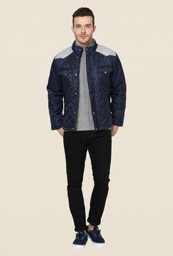 Yepme Navy Garett Full Sleeves Jacket