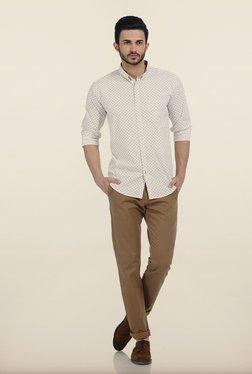 Basics Powder Puff Motif Print Slim Fit Shirt