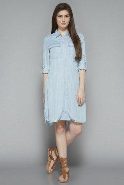 LOV By Westside Light Blue Dale Dress