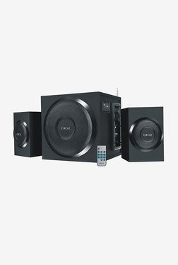 Circle CT 370RC 2.1 Channel 54W Multimedia Speaker (Black)