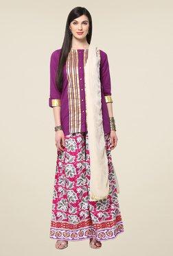 Yepme Purple Elina Salwar Kameez Set