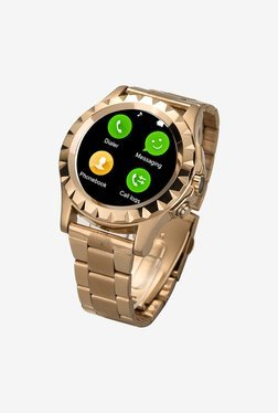 Bingo C1 Bluetooth Smart Watch (Gold)