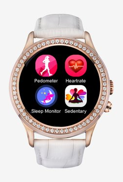 Bingo C2 Bluetooth Smart Watch (White)