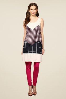 Yepme Multicolor Clarice Printed Cotton Tunic