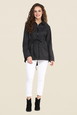Yepme Black Clarice Long Jacket
