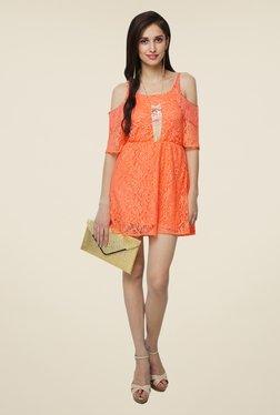 Yepme Fiona Orange Lace Dress