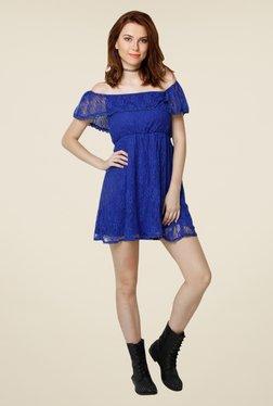 Yepme June Blue Lace Dress