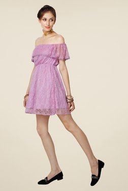 Yepme June Lavender Lace Dress