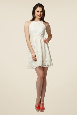 Yepme Eliza White Lace Dress