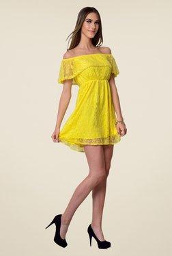 Yepme June Yellow Lace Dress