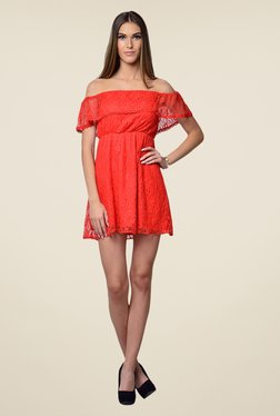 Yepme June Red Lace Dress