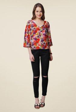 Yepme Multicolor Amicia Floral Print Top