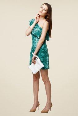 Yepme Scarlett Green One Shoulder Dress
