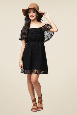 Yepme June Black Lace Dress