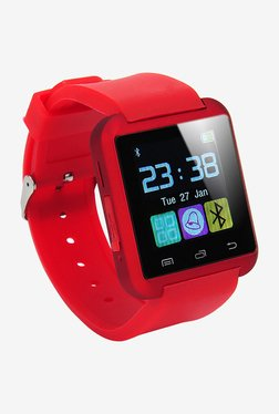 Bingo U8 Bluetooth Smart Watch (Red)