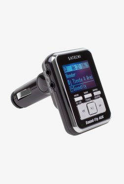 Satechi SoundflyAUX MP3 Player With FM Transmitter (Black)