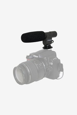 Polaroid Pro Shotgun Microphone for Canon Vixia Hf (Black)