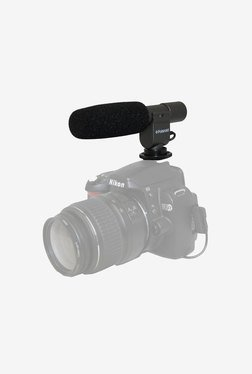 Polaroid Pro Shotgun Microphone for Sony Alpha Nex (Black)
