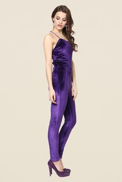 Yepme Oriana Purple Party Jumpsuit