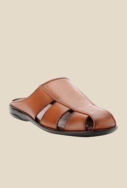 Bruno Manetti Tan Casual Sandals