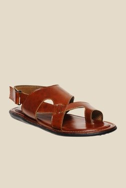Bruno Manetti Tan Back Strap Sandals - Mp000000000299191