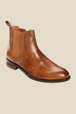 Bruno Manetti Tan Chelsea Boots