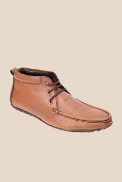 Bruno Manetti Tan Casual Shoes