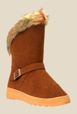 Bruno Manetti Brown Flat Booties - Mp000000000303367