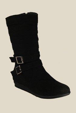 Bruno Manetti Black Flat Booties - Mp000000000303429
