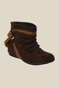 Bruno Manetti Brown Flat Booties