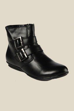 Bruno Manetti Black Flat Booties - Mp000000000303529