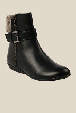 Bruno Manetti Black Flat Booties - Mp000000000303613